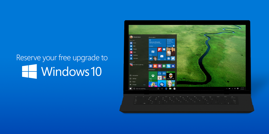 How to upgrade from windows 7 to windows 10?